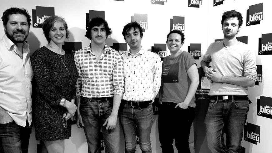 Stereocrown et l'équipe de France Bleu Lorraine