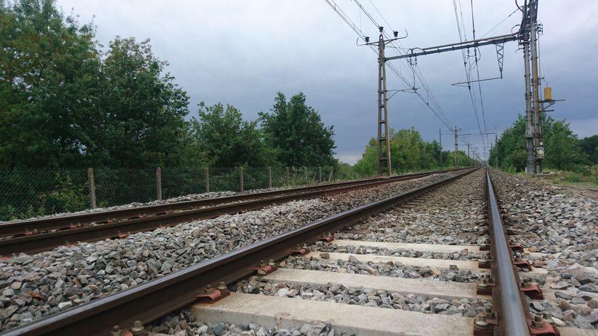 Une voie ferrée (photo d'illustration)