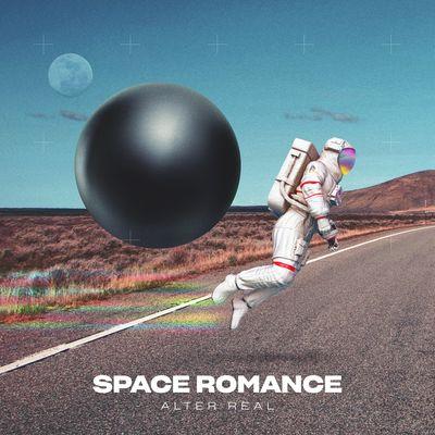 """Pochette de l'album """"Space romance"""" par Alter Real"""