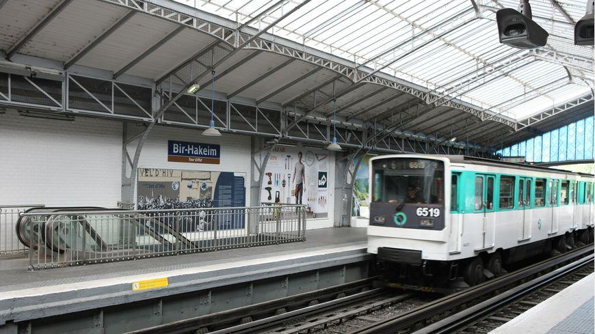 La ligne 6 du métro parisien.