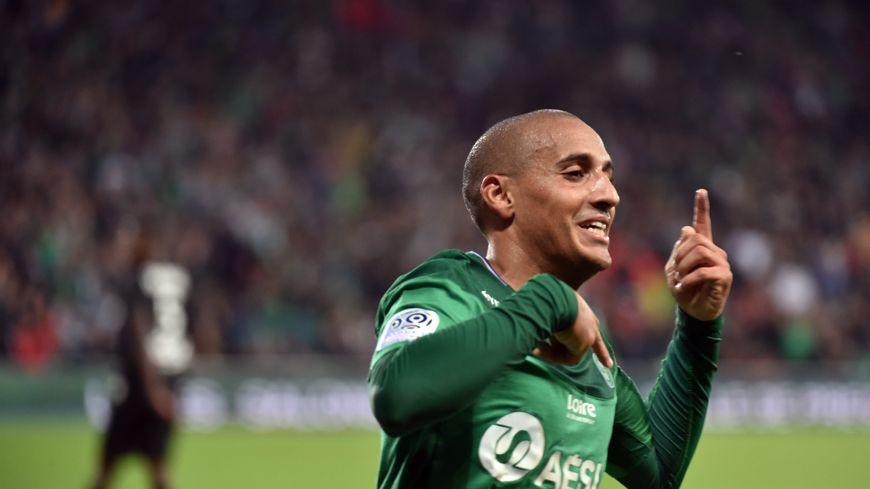 L'attaquant a inscrit son premier but de la saison avec les Verts dimanche.
