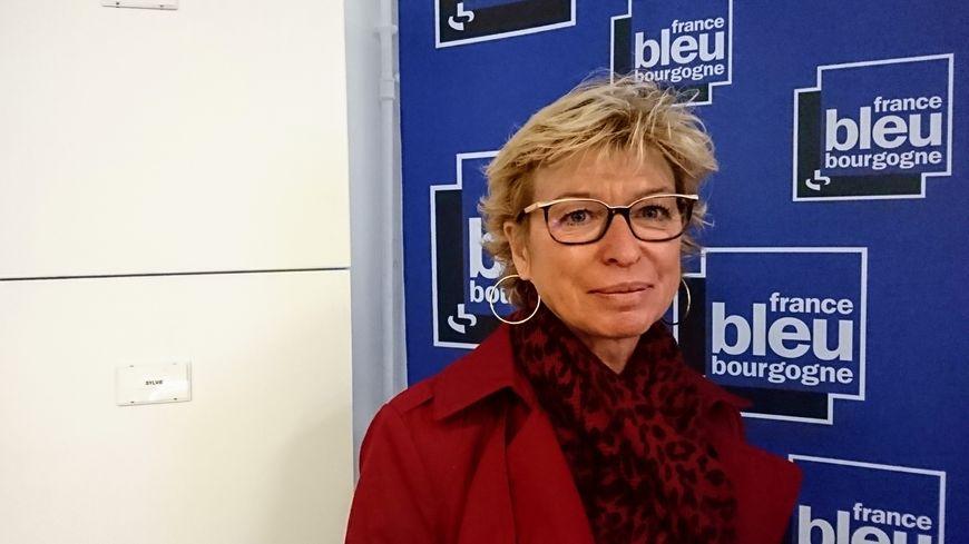 Sandrine Mourey, la secrétaire générale de l'union départementale de la CGT 21