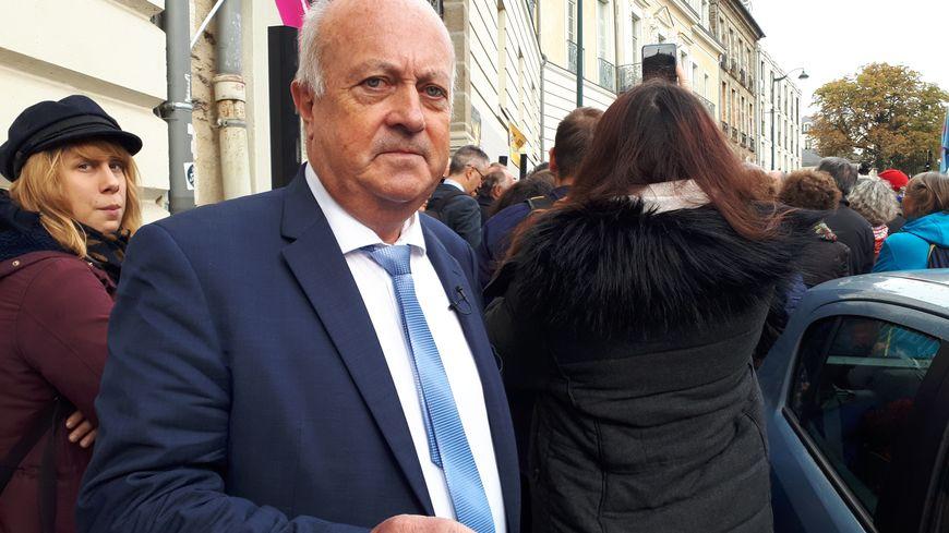 Daniel Cueff devant le tribunal administratif de Rennes le 14 octobre 2019. le