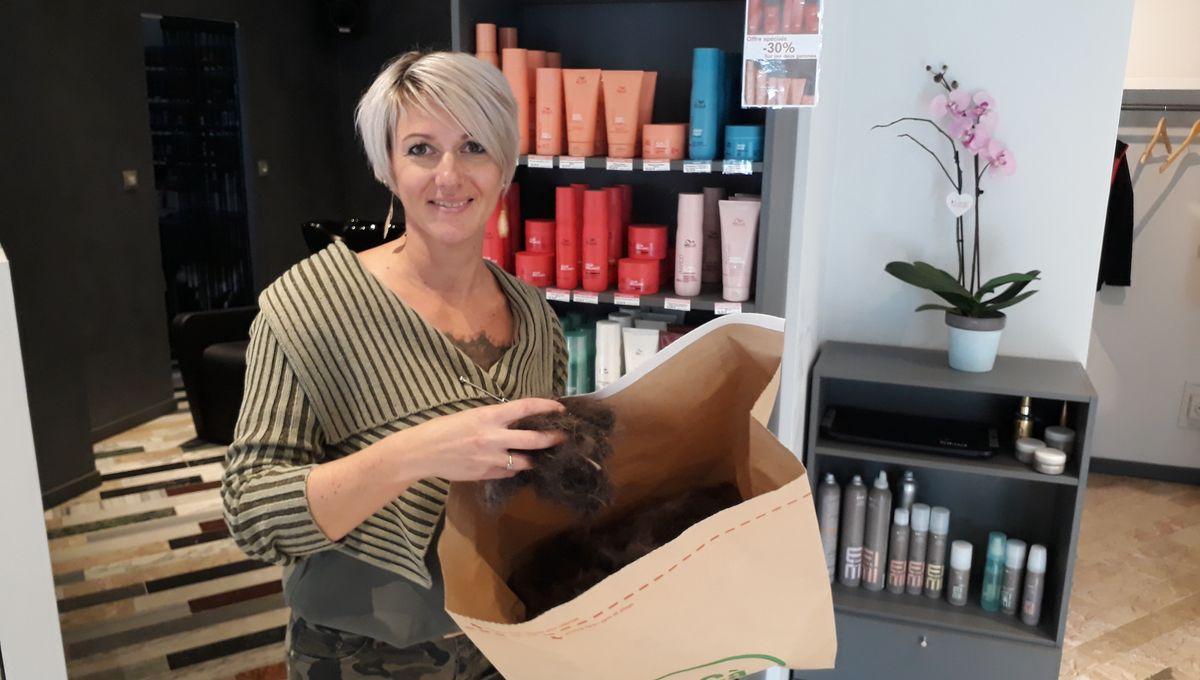 Des salons de coiffure récupèrent les cheveux pour dépolluer les océans à Belfort
