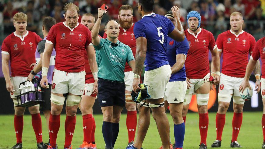 Le coup de coude de Sébastien Vahaamahina avait été sanctionné d'un carton rouge en quart-de-finale de Coupe du monde contre le Pays-de-Galles