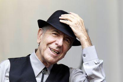 L'auteur-compositeur-interprète Leonard Cohen le 12 août 2012 à Gand (Belgique).