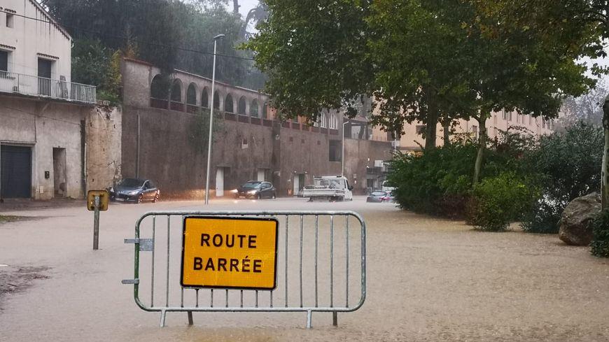 Des routes sont fermées à la circulation