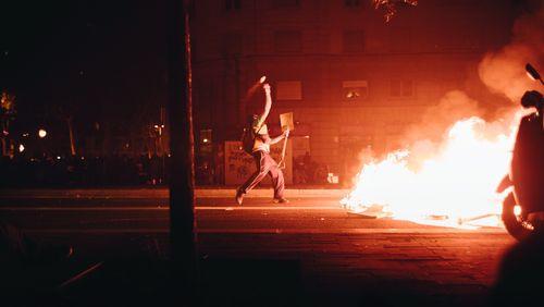 Manifestation monstre à Barcelone contre les condamnations de plusieurs indépendantistes catalans