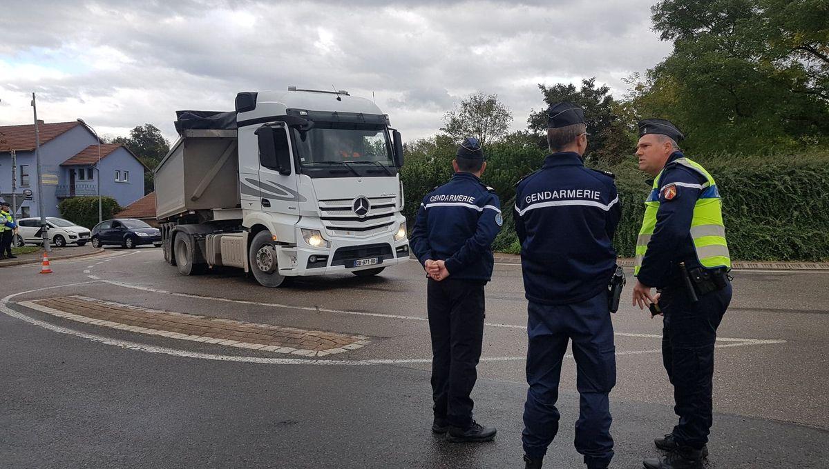 Sécurité routière : les gendarmes alsaciens en mission de prévention à la veille des vacances de la Toussaint