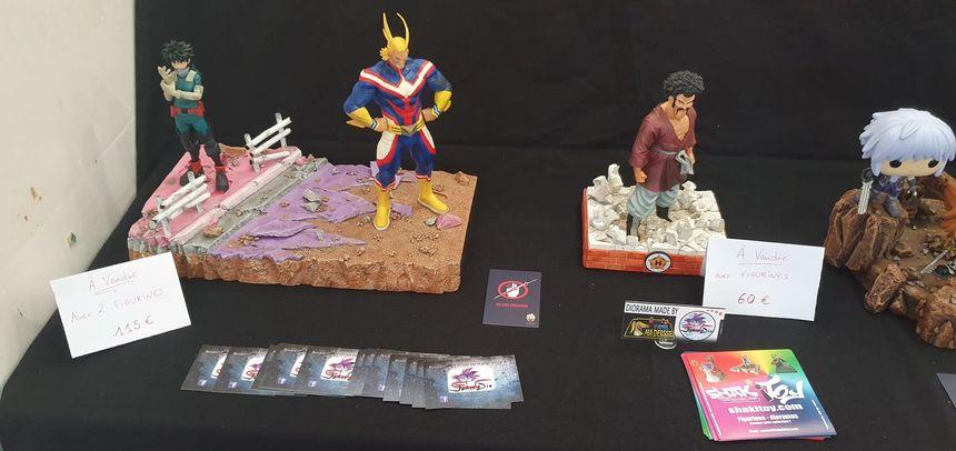 """L'association """"Les amis de ma déesse"""" reproduit les décors des mangas, super-héros et autres figurines"""