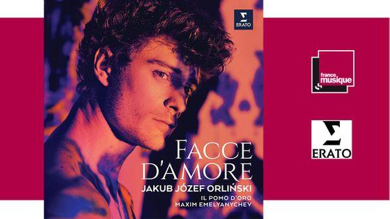 Facce D'Amore - Jakub Jozef Orlinski / Il Pomo D'Oro / Maxim Emelyanychev