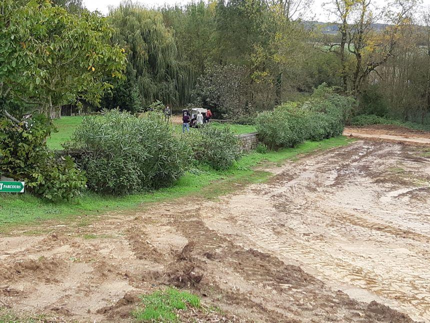 Le terrassement a débuté sur la nouvelle portion du golf