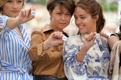 Mounia Meddour et Lyna Khoudri pour le film Papicha