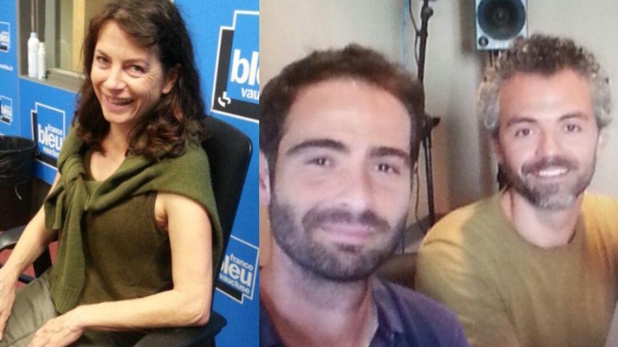 Vanina Delannoy, Maxime Le Gall, Jérémy Cardaccia.