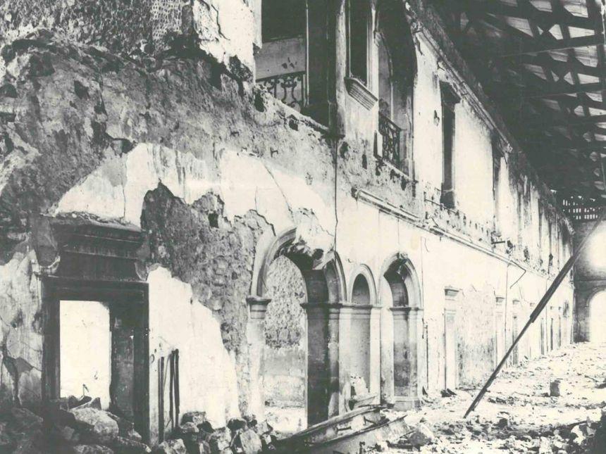 les destructions de 1944