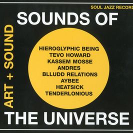 "Pochette de l'album ""Sounds of the universe : art + sound"" par Mike Huckaby"