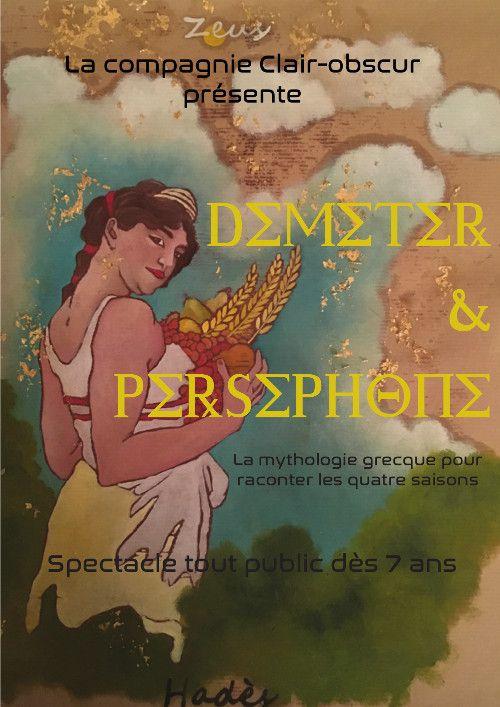 Déméter et Perséphone.