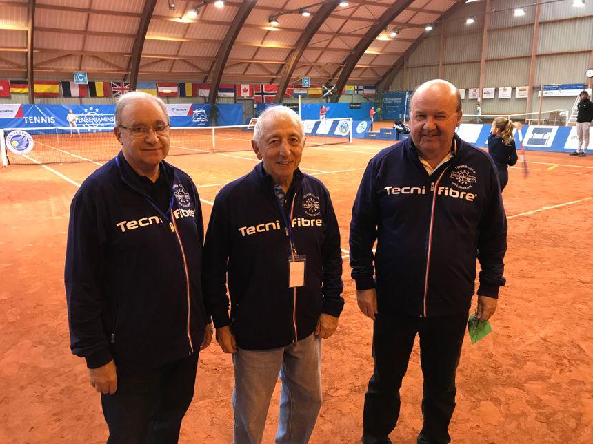 Le staff du tournoi (avec Philippe Beauté directeur à droite)