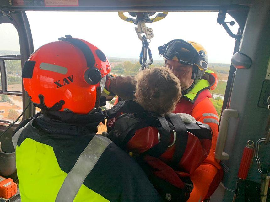Les pompiers de l'Hérault ont procédé à plus de 130 sauvetages dont une vingtaine d'hélitreuillages.