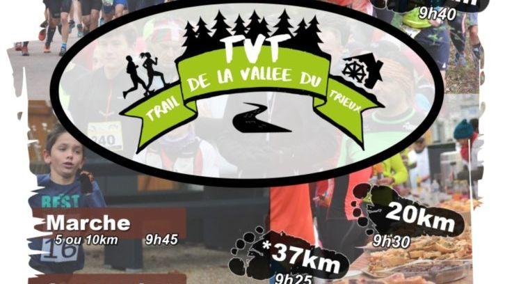 Affiche du trail de la vallée du Trieux à Busseroles