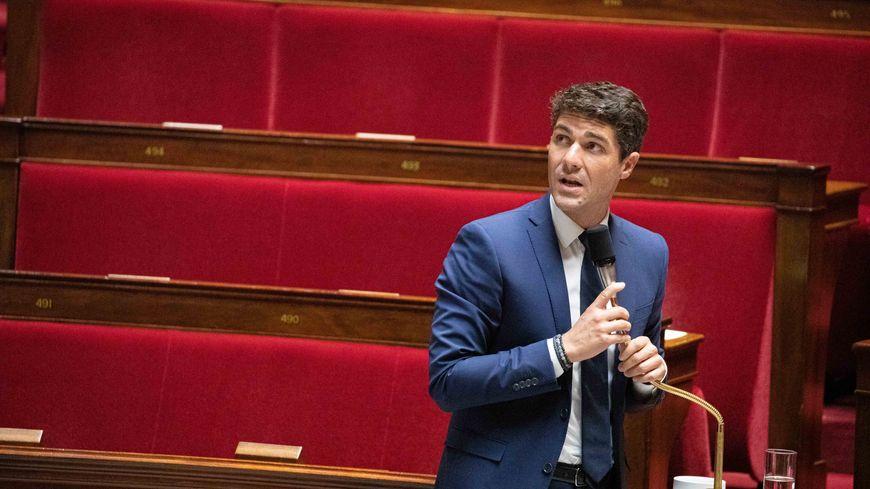 Aurélien Pradié vient d'être promu secrétaire général de LR