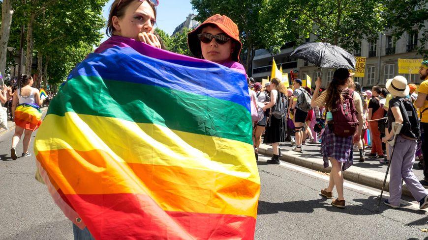 La Gaypride ou Marche des fiertés, le 29 juin 2019 à Paris.