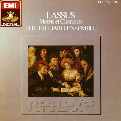 ENSEMBLE HILLIARD  JAMES DAVID  CHARLES BRETT  ROGERS COVEY-CRUMP  PAUL ELLIOTT  LEIGH NIXON  GEORGE MICHAEL  DAVID BEVAN  STEPHEN STUBBS sur France Musique