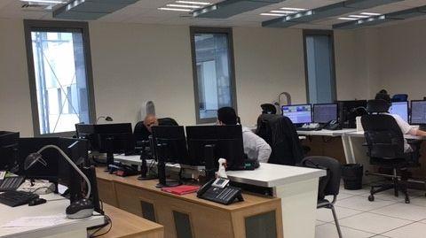 centre d'appel du  15  à l'hôpital Pasteur de Nice