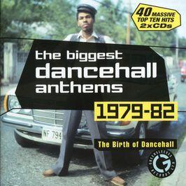 """Pochette de l'album """"The biggest dancehall anthems 1979-82 (disc 1)"""" par Beres Hammond"""