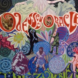 "Pochette de l'album ""Odessey and oracle"" par The Zombies"