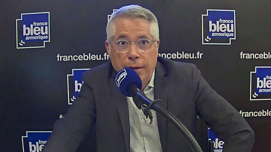Xavier Tirel, directeur général de la Semtcar, maître d'ouvrage de la ligne B du métro de Rennes métropole.
