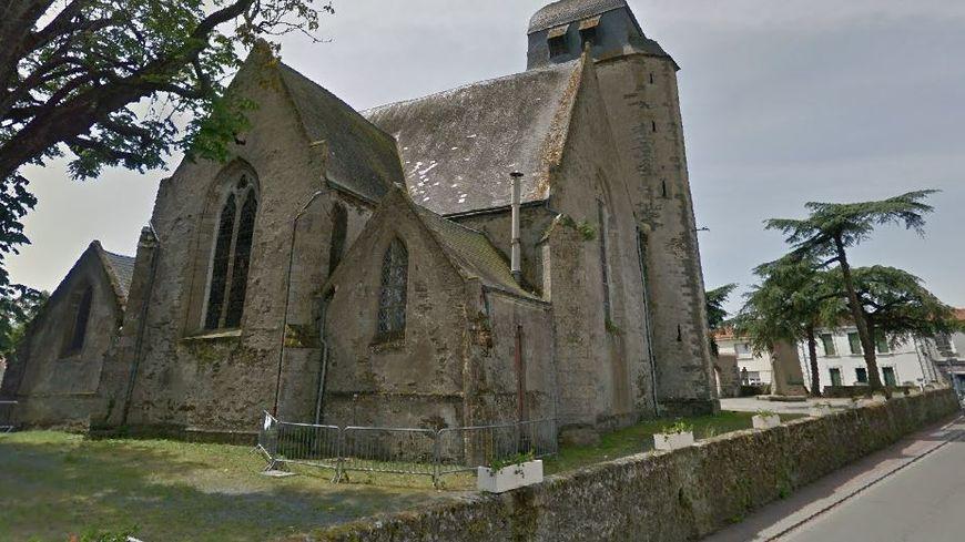 L'église de Bois-de-Céné, en Vendée.