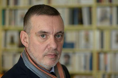 Portrait de François Sureau, avocat et écrivain français en 2013.