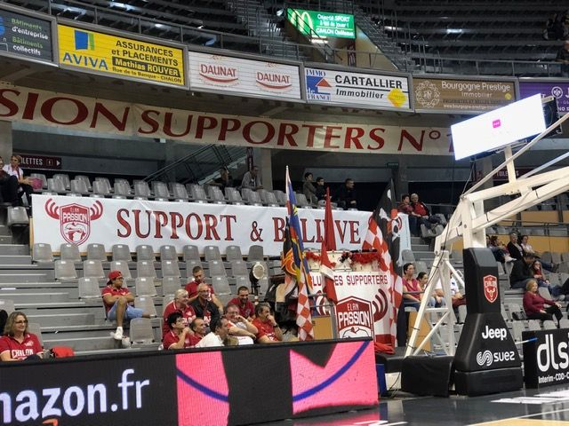 Les supporters boulazacois au Colisée