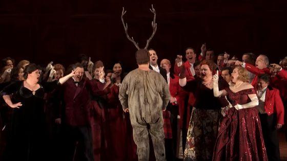 Falstaff de Giuseppe Verdi au Royal Opera House de Londres (juillet 2018)