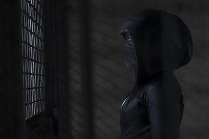 """Regina King dans la série """"Watchmen"""" de HBO"""