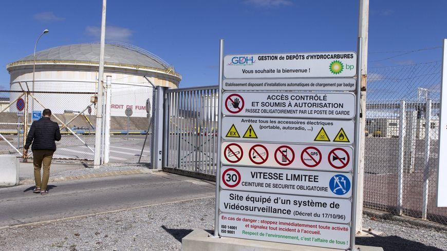 Site industriel de GDH a Frontignan-la-Peyrade, classé Seveso seuil haut.
