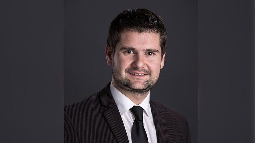 Jean-Baptiste Gagnoux maire de Dole et candidat officiellement soutenu par LREM pour la prochaine élection municipale