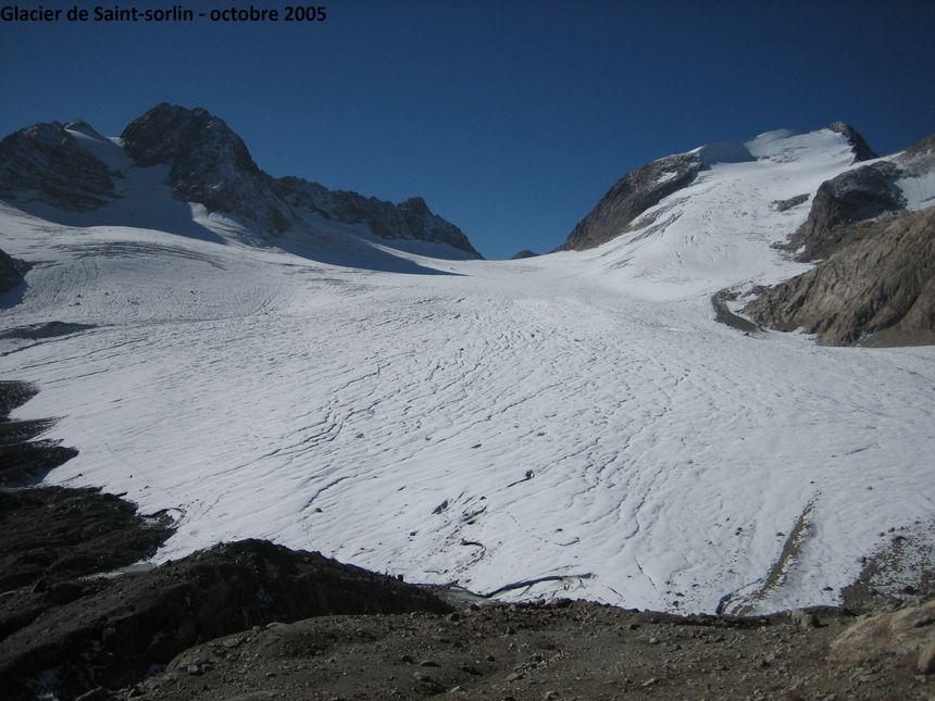 Le glacier de Saint-Sorlin en 2005