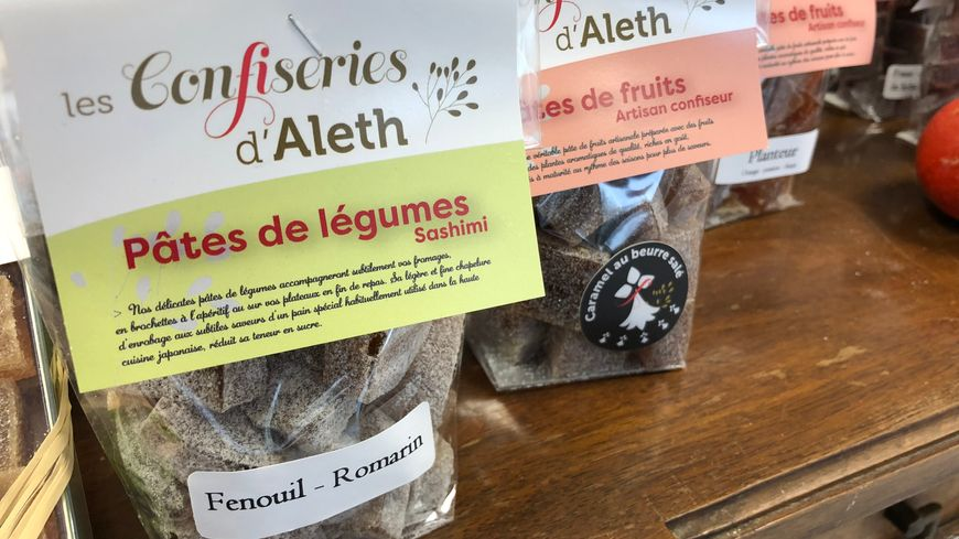 Les confiseries d'Aleth, fabriquées au pays de Saint-Malo