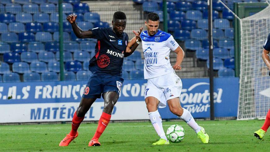 Le milieu de terrain Opa Sanganté espère que la Berri va pouvoir rebondir après sa défaite surprise face au Paris Football Club