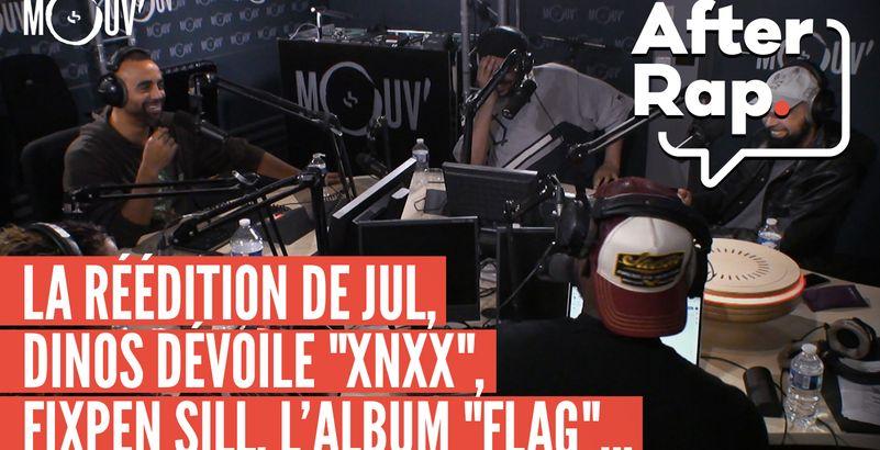 After Rap : la réédition de JuL, Dinos dévoile XNXX, l