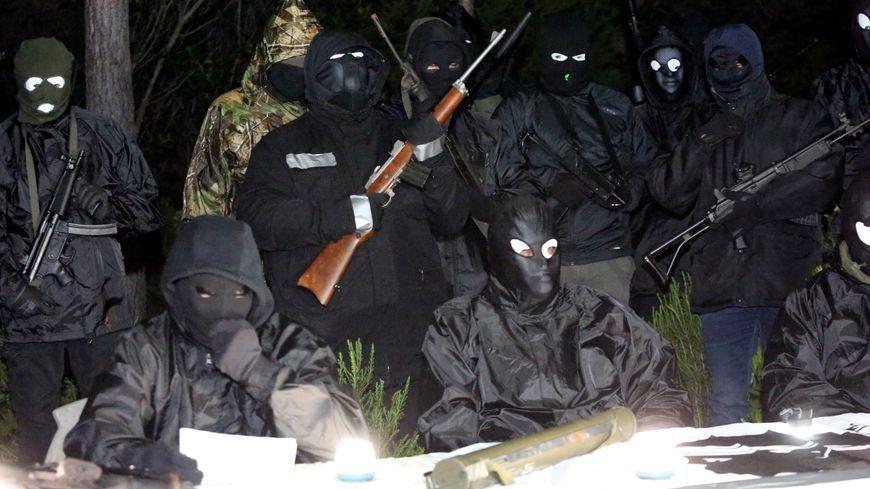 """En 2016, le FLNC dit """"du 22 octobre"""" annonçait """"la cessation des actions militaires"""""""