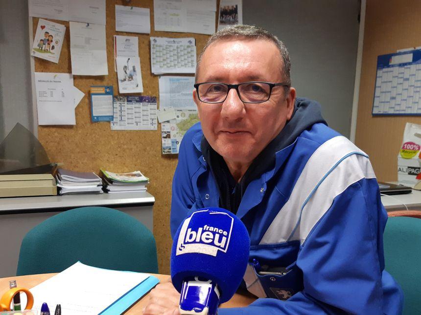 """""""La fermeture que certains redoutent n'est pas pour aujourd'hui"""" affirme Guy Barbier de la CFE CGC"""