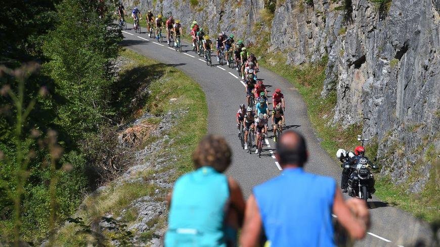 L'édition 2020 du Tour de France passera par le col de Soudet, qui était sur le parcours de la Vuelta en 2016 (ici sur la photo).