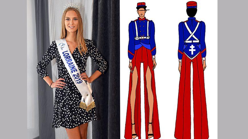 Miss Lorraine 2019 doit défiler en costume de Poilu