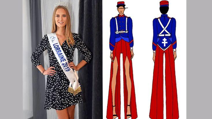 Miss Lorraine 2019, Ilona Robelin, ne défilera pas en tenue de Poilu le 14 décembre prochain