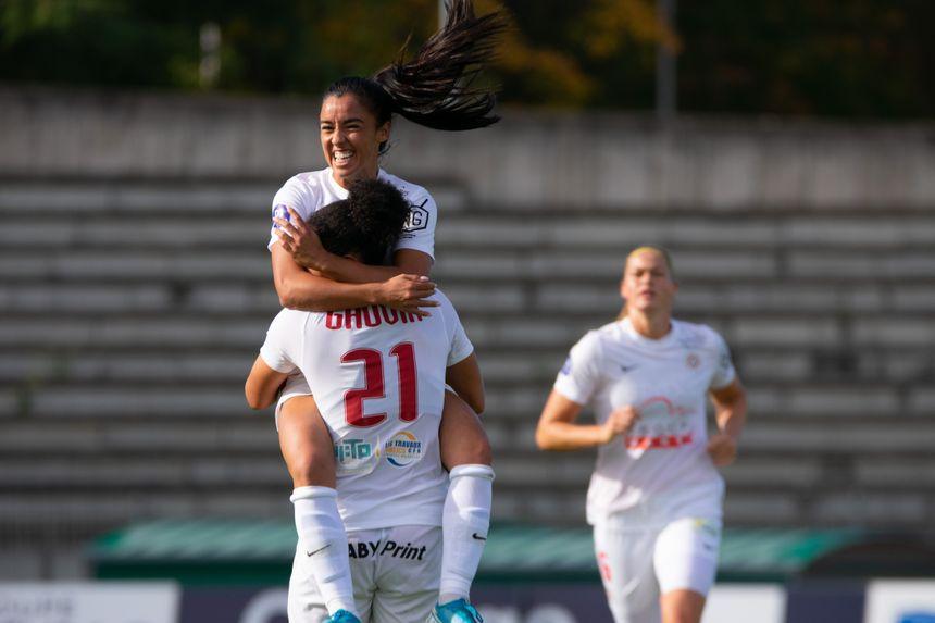 Sakina Karchaoui a délivré deux passes décisives sur les sept premiers matchs du championnat