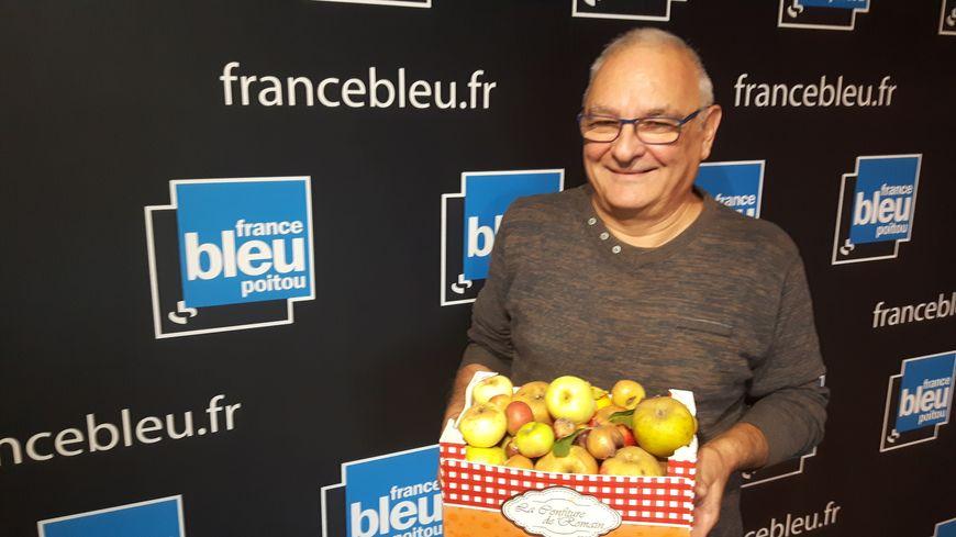 Bernard Collot pdt des Croqueurs de pommes 86