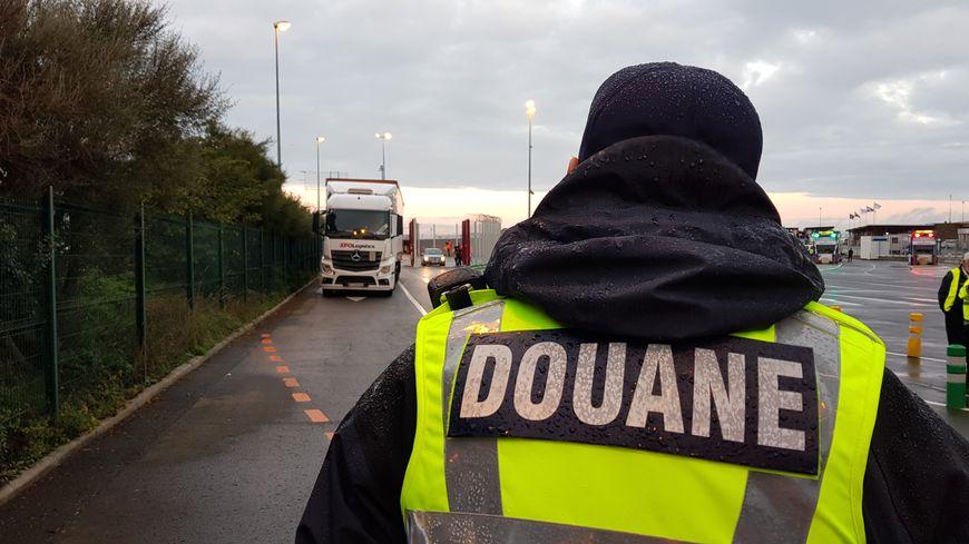 Les douaniers effectueront des contrôles sur cerrtains camions.